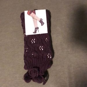 Jessica Simpson LEG WARMERS One Size